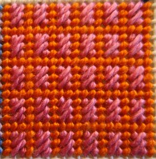 Framed Cashmere Stitch Step 2