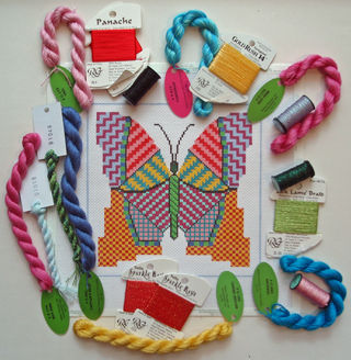 Painted Stitches Butterfly Threads