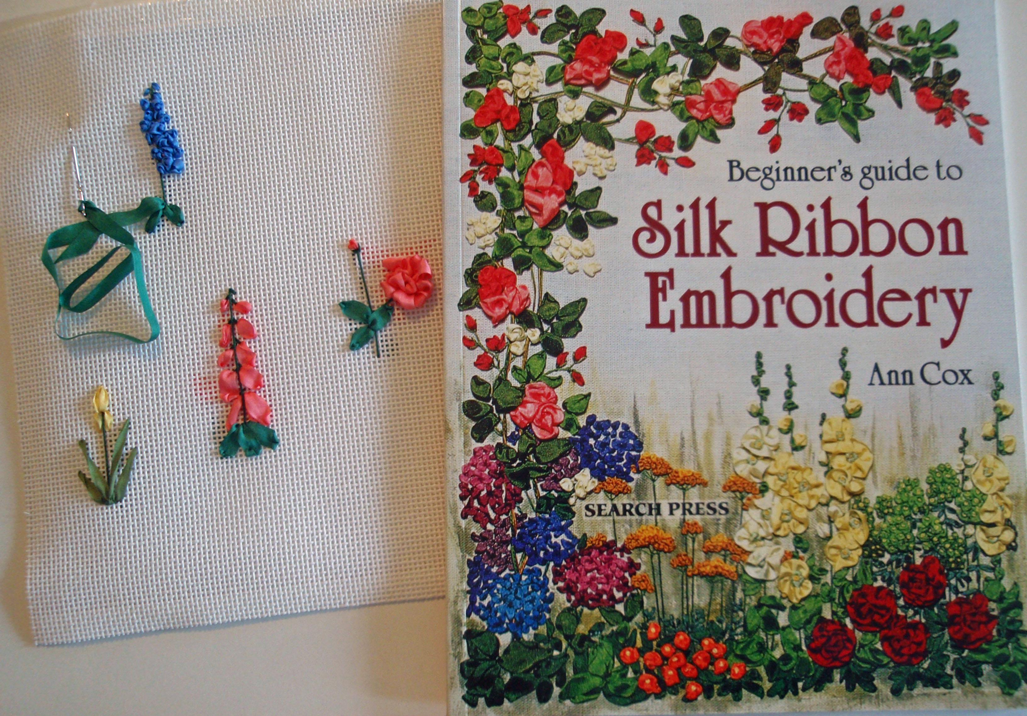 Create Needlepoint Silk Ribbon Embroidery