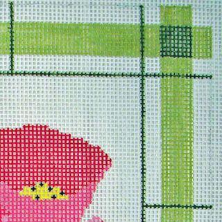 Mosaic Stripe Stitch canvas