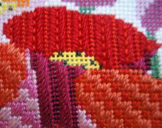 Corduroy-Framed Stem stitched
