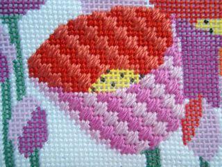 Diagonal Scotch-Moorish Stitch stitched