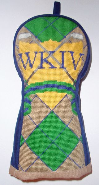 WK golf club cover