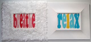 Breathe relax needlepoint