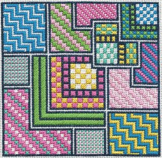 PS18 Summer Squares Stitched