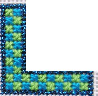 D06 PS18 Reverse Mosaic Stitch step 2