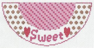 K04 Sweet Needlepoint Kiss