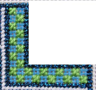 D05 PS18 Reverse Mosaic Stitch step 1
