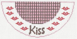 K05 Kiss Needlepoint Kiss