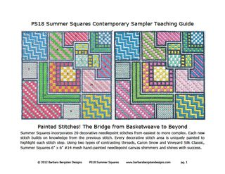 PS18 Summer Squares Teaching Guide