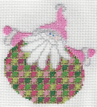 Santa Stitches 5 Arrowhead Stitch step 1