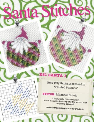 Santas Stitches Stitch Sheet