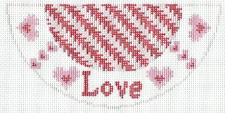 K06 Love Needlepoint Kiss