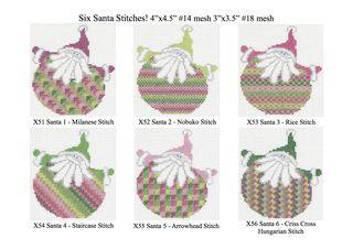 Santa Stitches