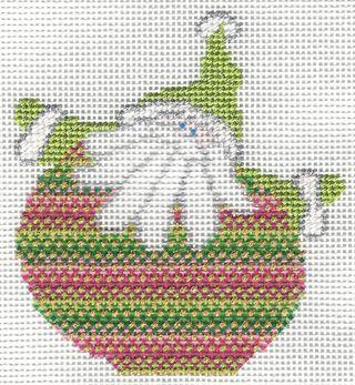 Santa Stitches 2 Nobuko Stitch step 1