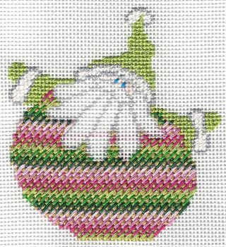 Santa Stitches 2 Nobuko Stitch step 2
