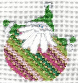Santa Stitches 4 Staircase Stitch step 2