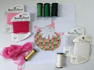 Santa Stitches 5 Threads