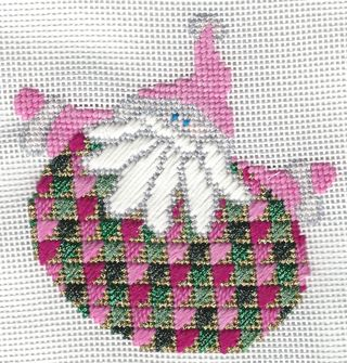 Santa Stitches 5 Arrowhead Stitch step 2
