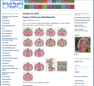 Create Needlepoint Blog