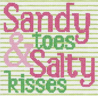 S58 Sandy Toes Needlepoint