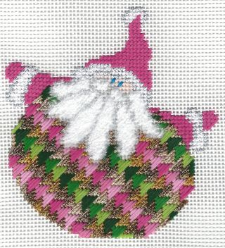 Santa Stitches 1 Milanese Stitch