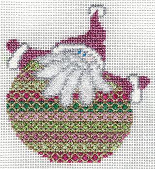 Santa Stitches 3 Rice Stitch