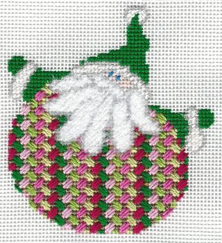 Santa Stitches 6 Criss Cross Hungarian Stitch