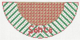 K01 Santa Needlepoint Kiss-1