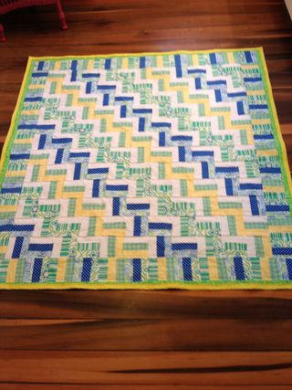 Sally's quilt front