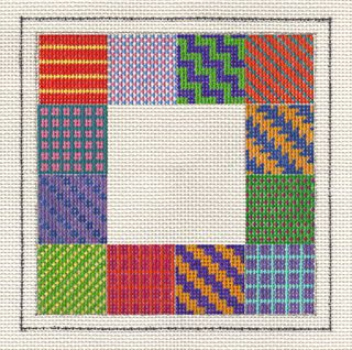 PS02 Painted Stitches Needlepoint