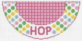 K09 HOP Needlepoint Kiss