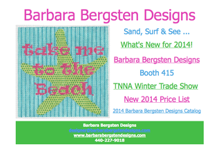 What's New needlepoint from bbd 1-8-14